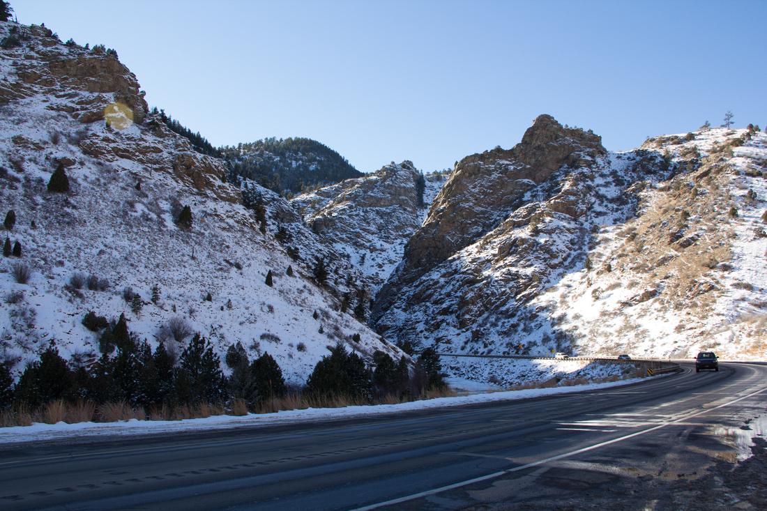 Day 3 - Driving through Rockies