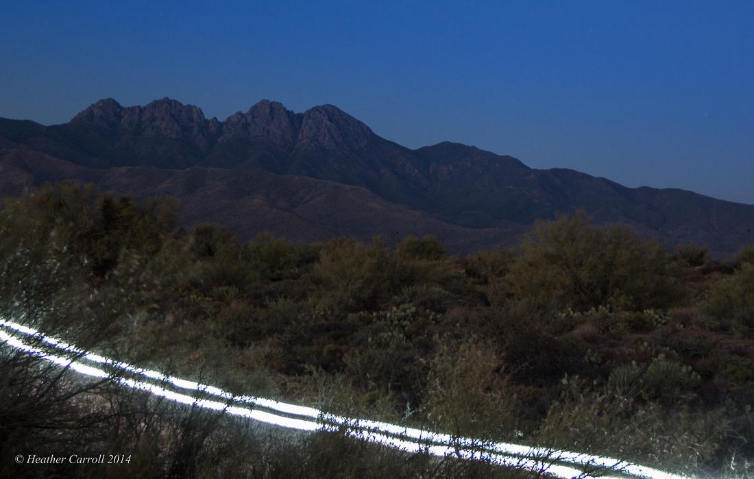 Light at Four Peaks